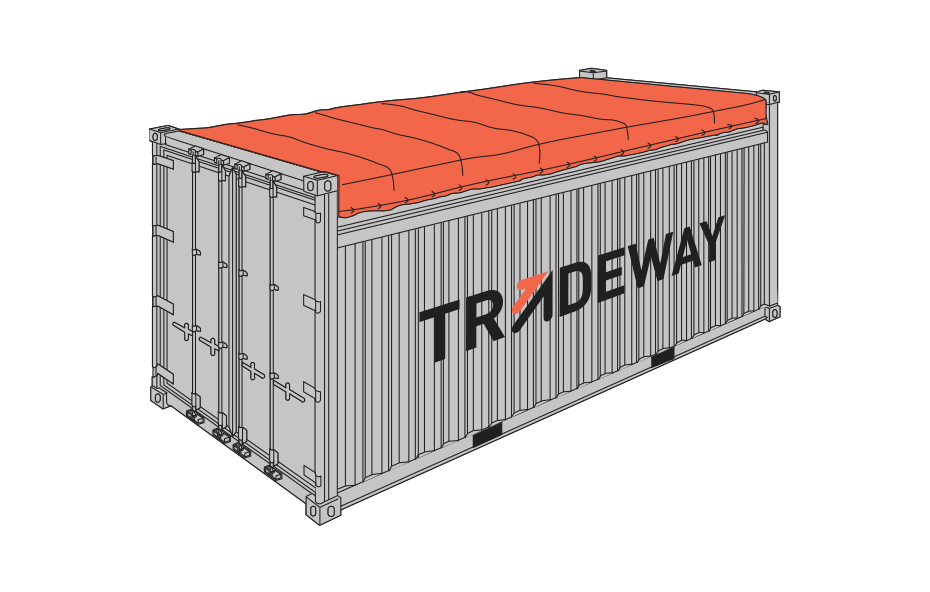 20 ft Open Top Shipping Container