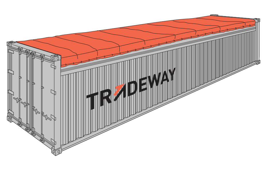 40 ft Open Top Shipping Container